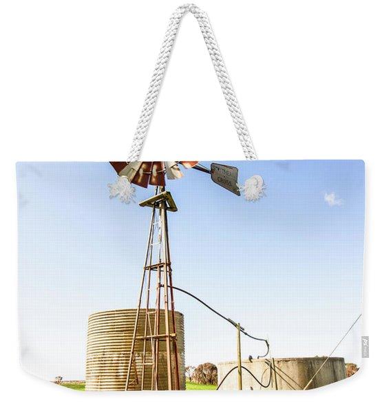 Outback Australian Farm Mill Weekender Tote Bag