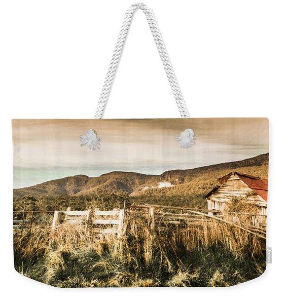 Outback Obsolescence  Weekender Tote Bag