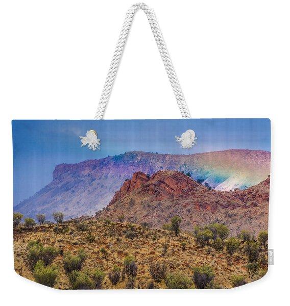 Outback Rainbow Weekender Tote Bag