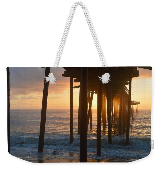Outer Banks Pier 7/6/18 Weekender Tote Bag