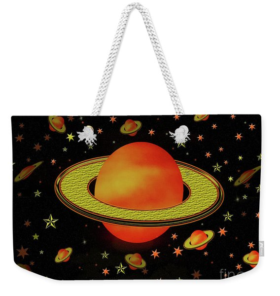 Outer Harvest Moons Weekender Tote Bag