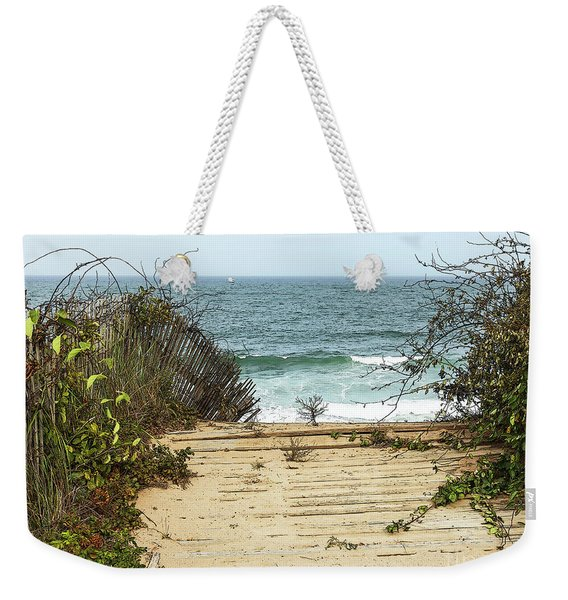 Outermost Passage Weekender Tote Bag