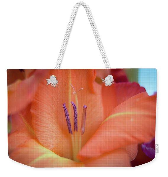 Ovation In Orange 4 Weekender Tote Bag