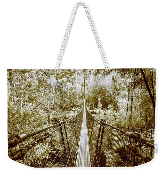 Over Australian Native Forests Weekender Tote Bag