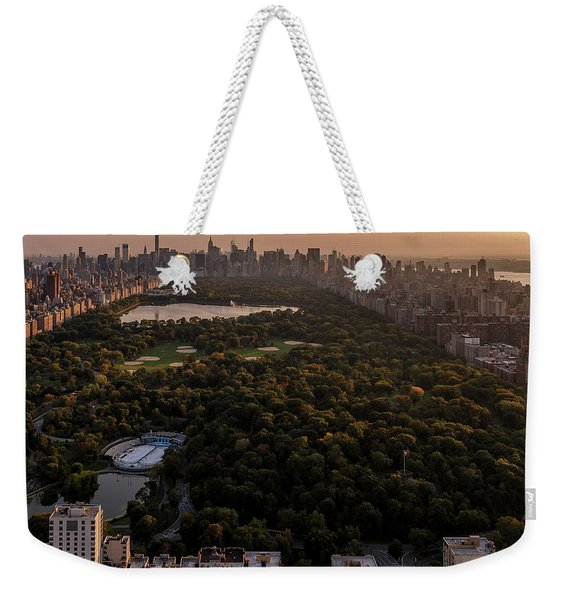 Over The City Central Park Weekender Tote Bag