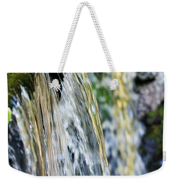Over The Edge Visions Of Gold Weekender Tote Bag