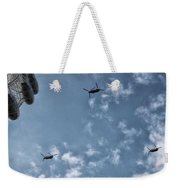 Over The Eye Weekender Tote Bag