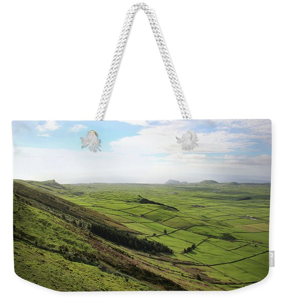 Over The Rim On Terceira Island, The Azores Weekender Tote Bag