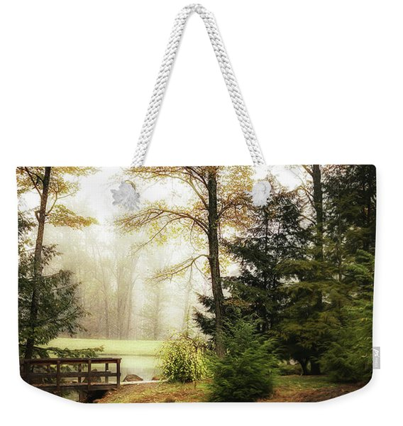 Over The River Weekender Tote Bag