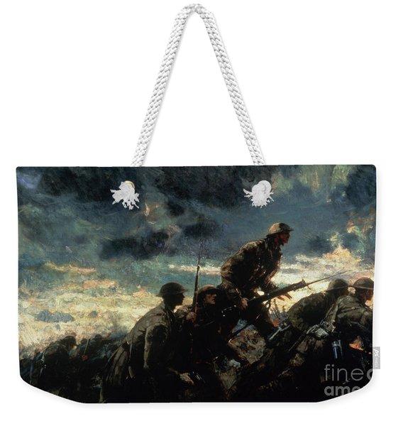 Over The Top Weekender Tote Bag