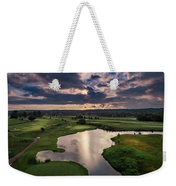 Over The Water Weekender Tote Bag