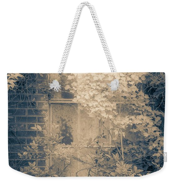 Overgrowth On Abandoned Pumping Station Weekender Tote Bag
