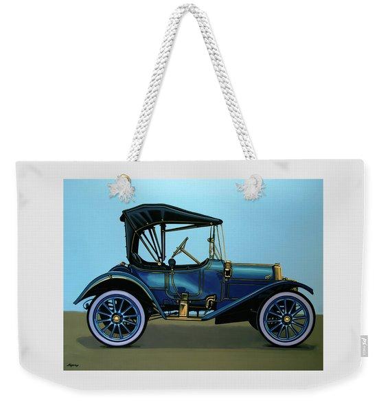 Overland 1911 Painting Weekender Tote Bag