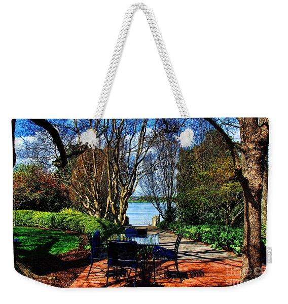 Overlook Cafe Weekender Tote Bag