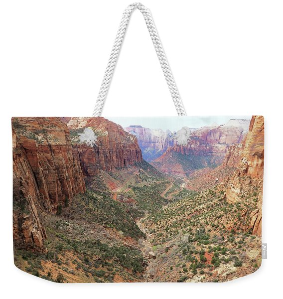 Overlook Canyon Weekender Tote Bag