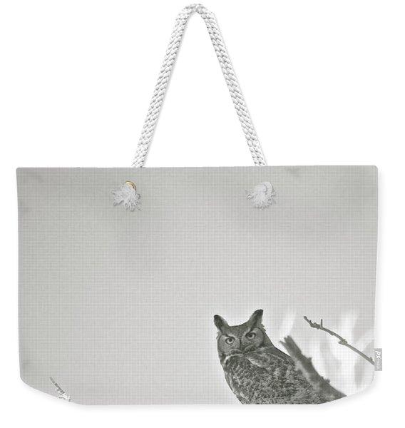 Owl Be Seeing You Weekender Tote Bag
