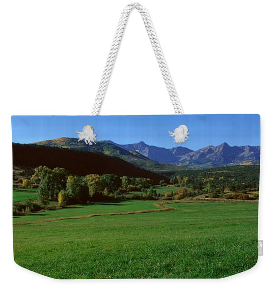 Owl Pass, Ridgeway, Colorado Weekender Tote Bag
