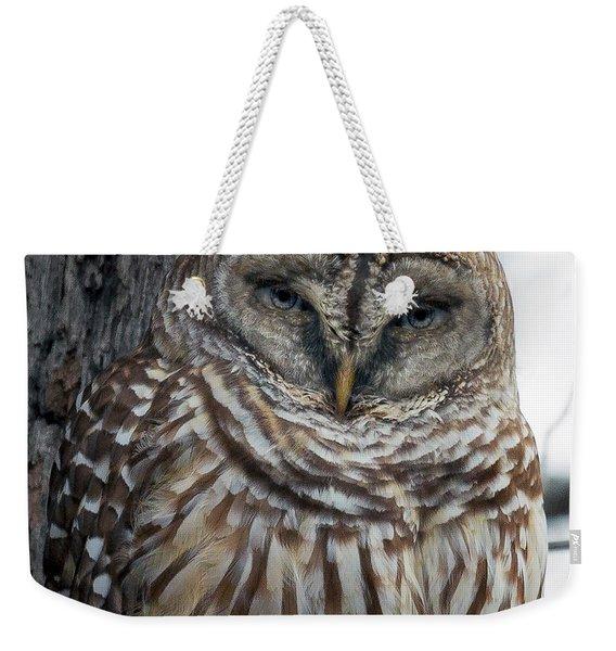 Owl See You Soon Weekender Tote Bag