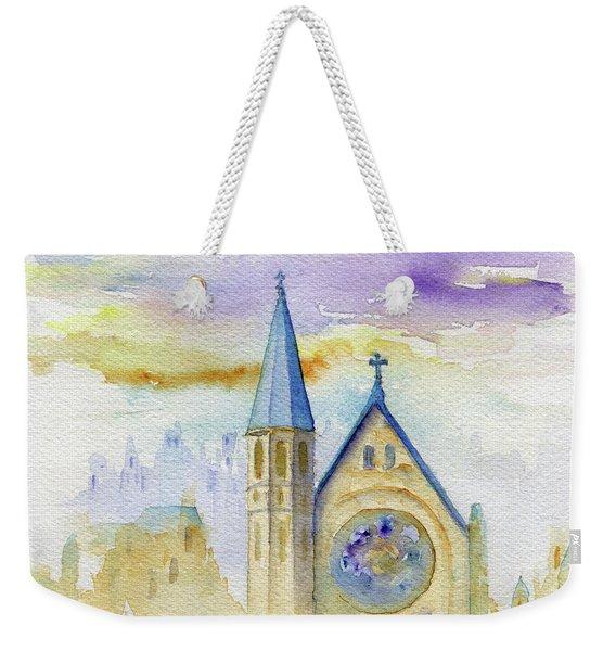Oxford Church Weekender Tote Bag