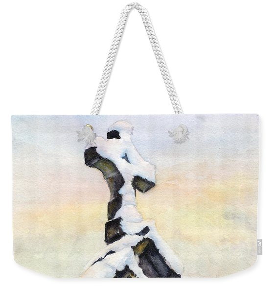 Oxford Snow Weekender Tote Bag
