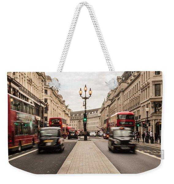 Oxford Street In London Weekender Tote Bag