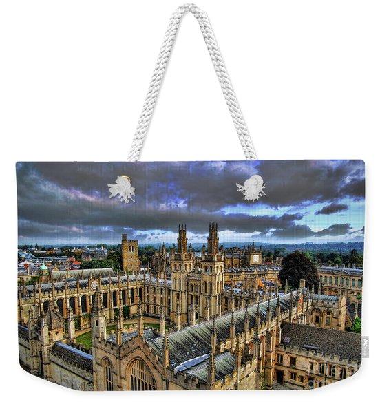 Oxford University - All Souls College Weekender Tote Bag