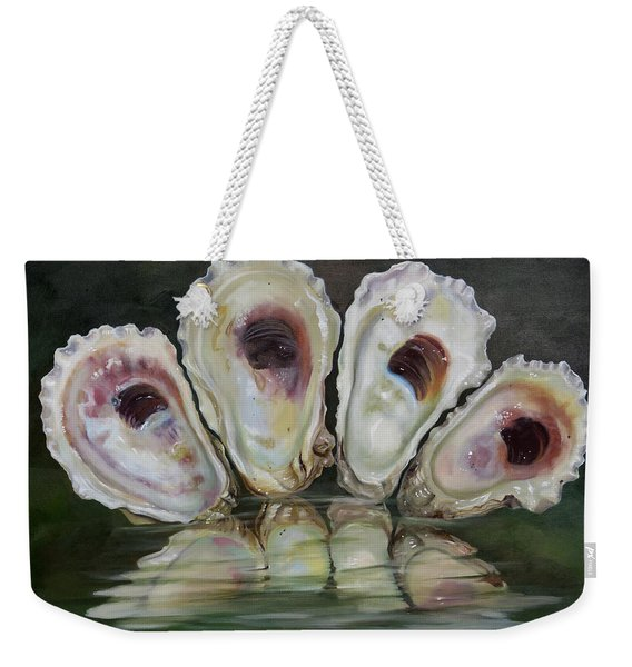Oyster Shells Weekender Tote Bag