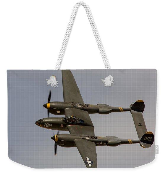 P-38 Skidoo Weekender Tote Bag