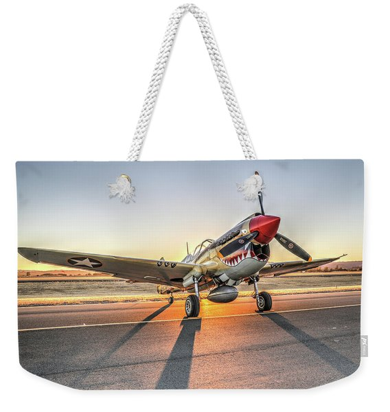 P40 Warhawk At Sonoma Weekender Tote Bag