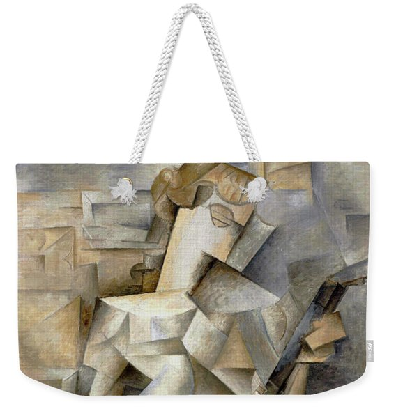 Pablo Picasso Girl With A Mandolin 1910 Weekender Tote Bag