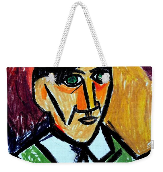 Pablo Picasso 1907 Self-portrait Remake Weekender Tote Bag