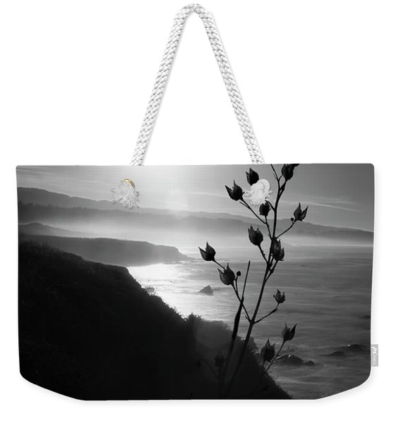 Pacific Coast B/w Weekender Tote Bag