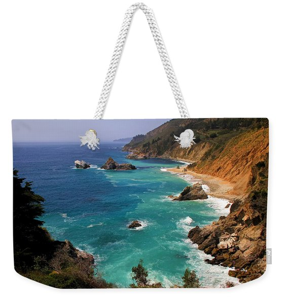 Pacific Coast Blues Weekender Tote Bag