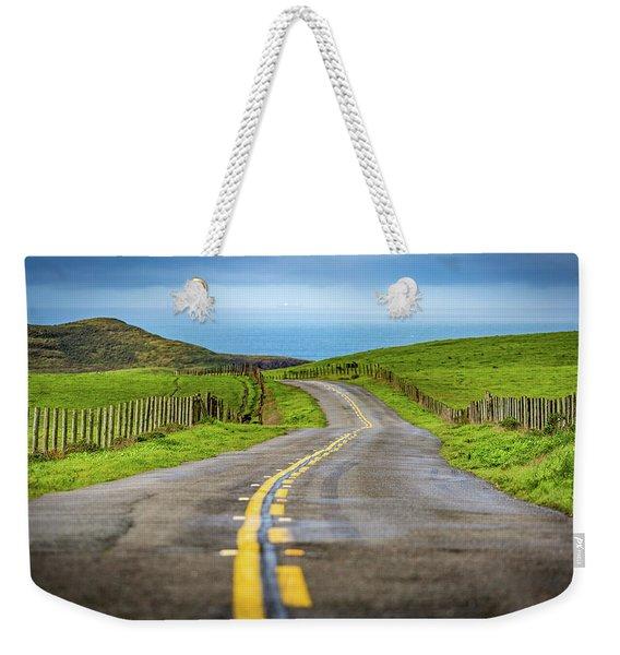 Pacific Coast Road To Tomales Bay Weekender Tote Bag