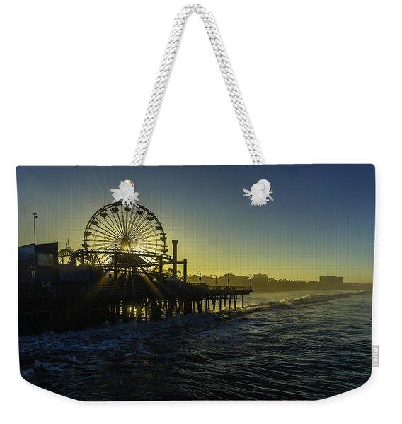 Pacific Park Ferris Wheel Weekender Tote Bag