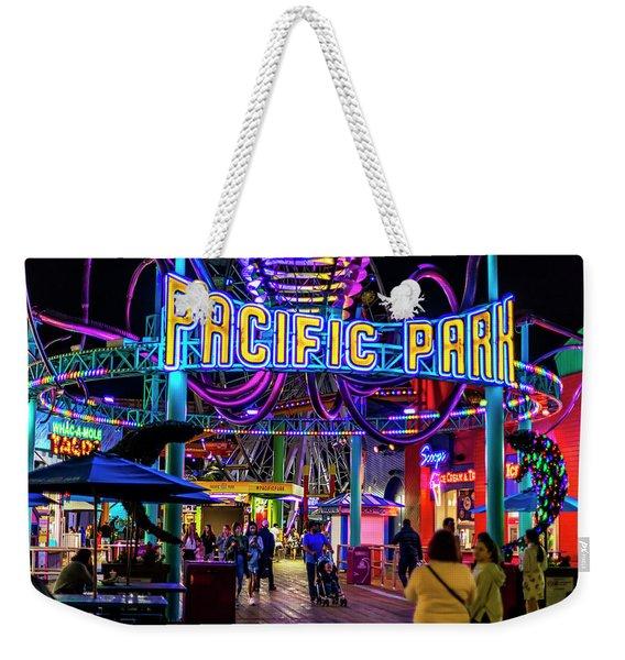Pacific Park - On The Pier Weekender Tote Bag