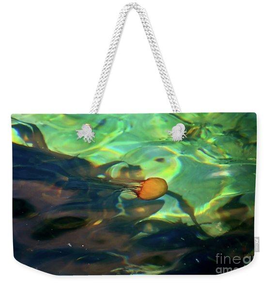 Pacific Sea Nettle Jellyfish Weekender Tote Bag