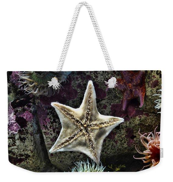 Pacific Starfish Weekender Tote Bag