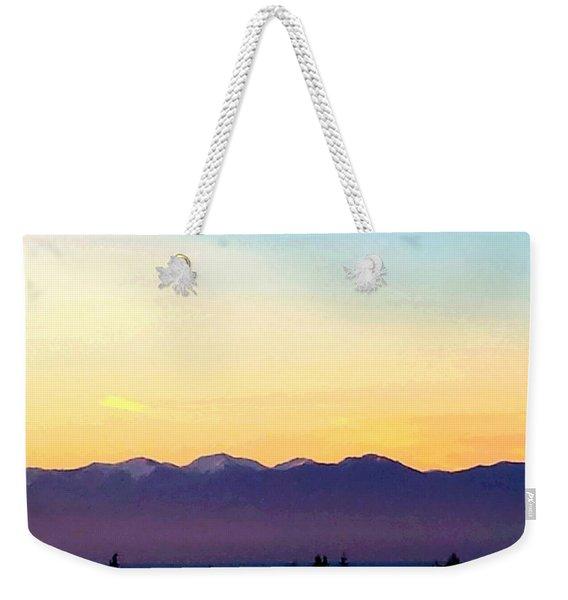 Pacific Twilight Weekender Tote Bag