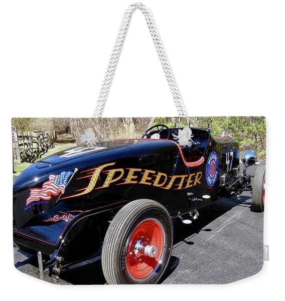 Packard Speedster  Weekender Tote Bag