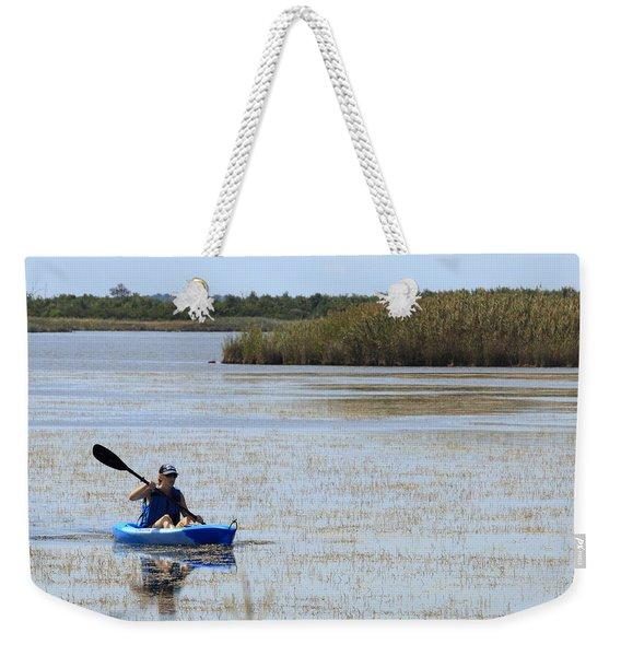 Paddle Away Weekender Tote Bag