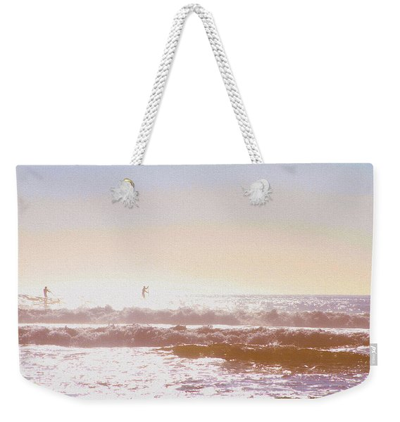 Paddleboarders Weekender Tote Bag