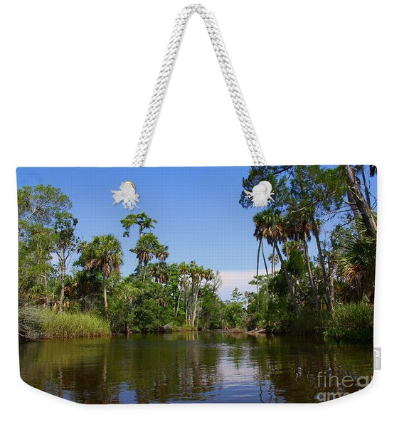 Paddling Otter Creek Weekender Tote Bag