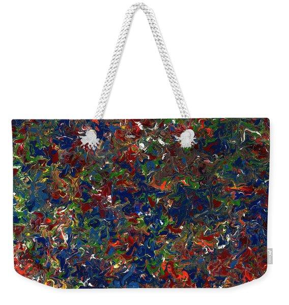 Paint Number 1 Weekender Tote Bag