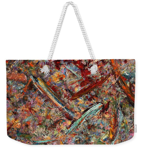 Paint Number 30 Weekender Tote Bag