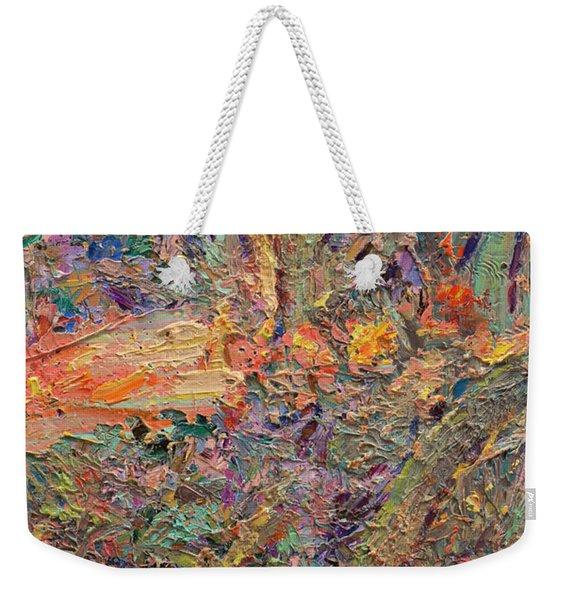 Paint Number 34 Weekender Tote Bag