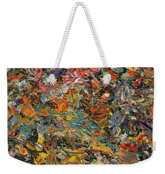 Paint Number 35 Weekender Tote Bag