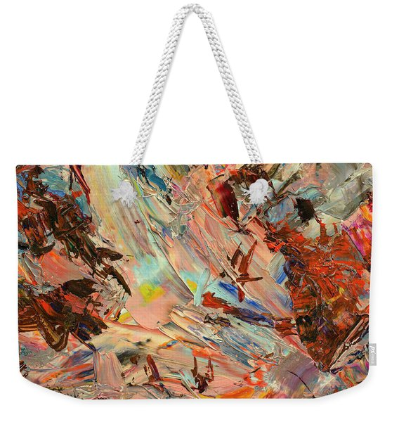 Paint Number 36 Weekender Tote Bag