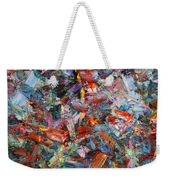Paint Number 42-a Weekender Tote Bag