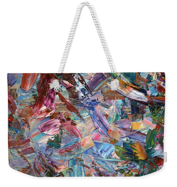 Paint Number 42-b Weekender Tote Bag